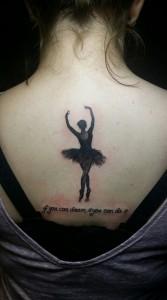 bailarina ballet espalda