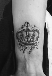 Corona con nombre